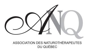 ANQ Association des Naturotherapeutes du Quebec logo